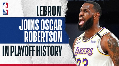 LBJ's Historic First 10 Games Of The Playoffs ?
