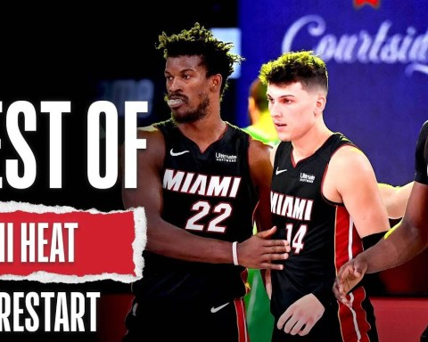 Miami Heat's BEST Plays From NBA Restart!