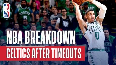 NBA Breakdown: Best of Boston Celtics After Timeouts
