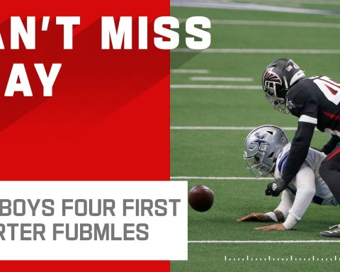 Cowboys Cough Up 4 Fumbles in the 1st Quarter Alone