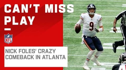 Crazy Ending in Atlanta! Nick Foles Leads 4th Quarter Comeback to Win