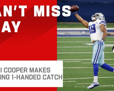 Dak Goes DEEP to Cooper for Amazing 1-Handed Catch!