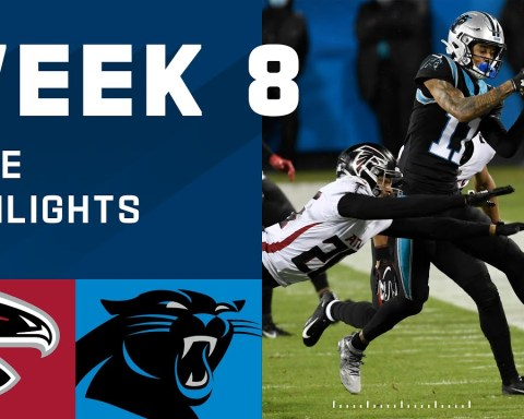Falcons vs. Panthers Week 8 Highlights | NFL 2020