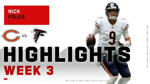 Nick Foles Takes Over & Leads Bears to BIG Comeback Win | NFL 2020 Highlights