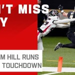 Taysom Hill Sneaks It in for 2nd Rushing TD on the Day