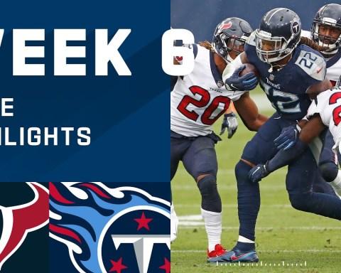 Texans vs. Titans Week 6 Highlights | NFL 2020