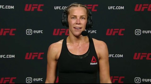 UFC 255: Katlyn Chookagian Post-fight Interview