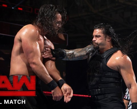 FULL MATCH - Roman Reigns vs. Seth Rollins: Raw, May 29, 2017