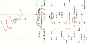 A Science Mystery – What is the Wow! Signal?