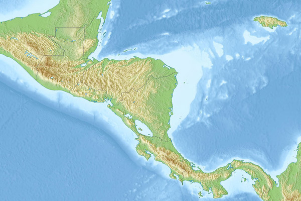 Central America Geography Facts