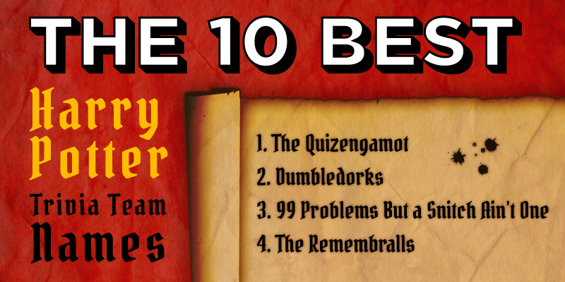 the 10 best harry