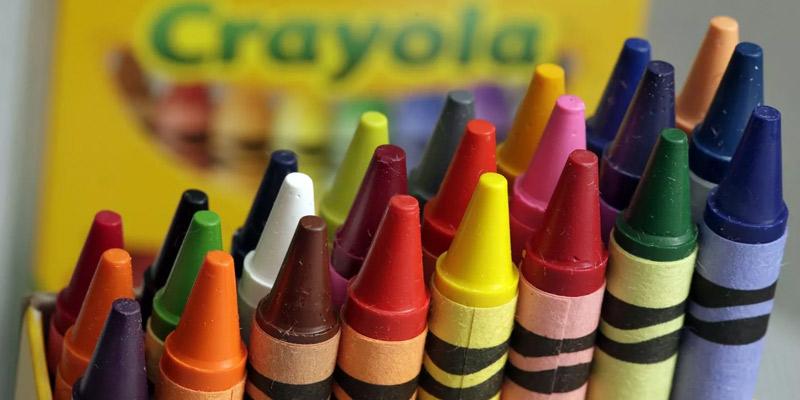 12 bizarre crayola colors