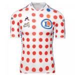 Maillot A Pois Cyclisme Le Coq Sportif Tour De France Meilleur Grimpeur