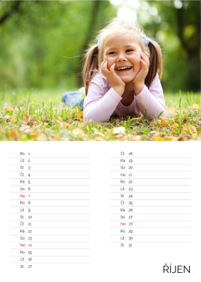 fotokalendar rijen