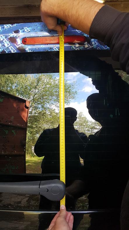 Instalace One Way Vision folie na zadní okno vozu