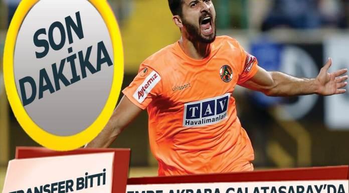 Emre Akbaba Galatasaray transferi