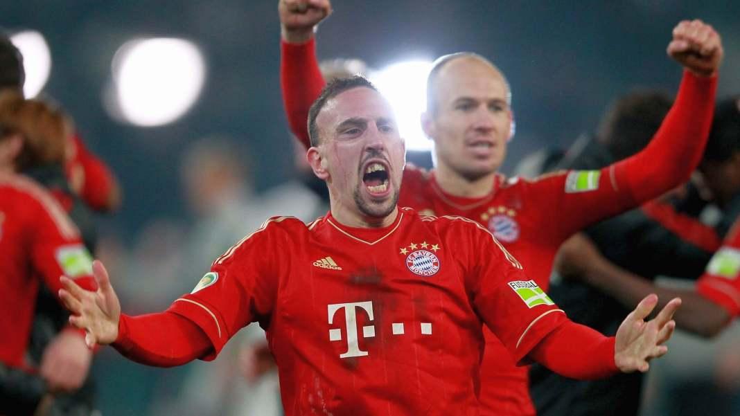 Ribery ve Robben son maçlarında gol attı