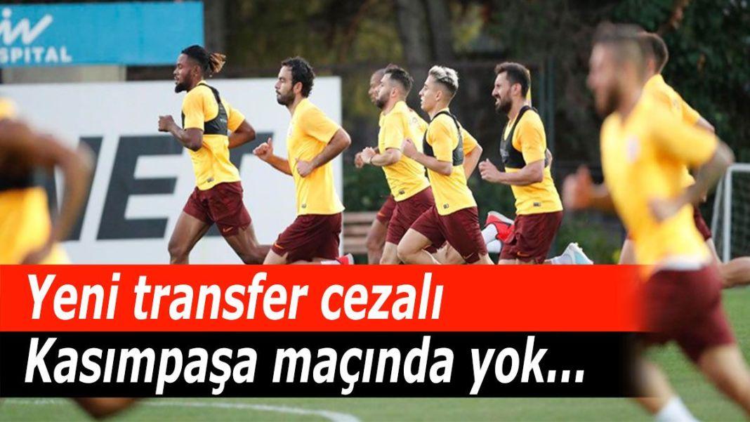 Yeni transfer cezalı