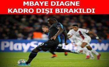 Mbaye Diagne kadro dışı