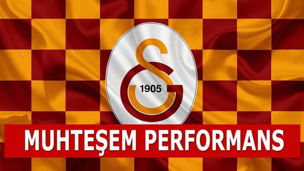 Galatasaray muhteşem performans
