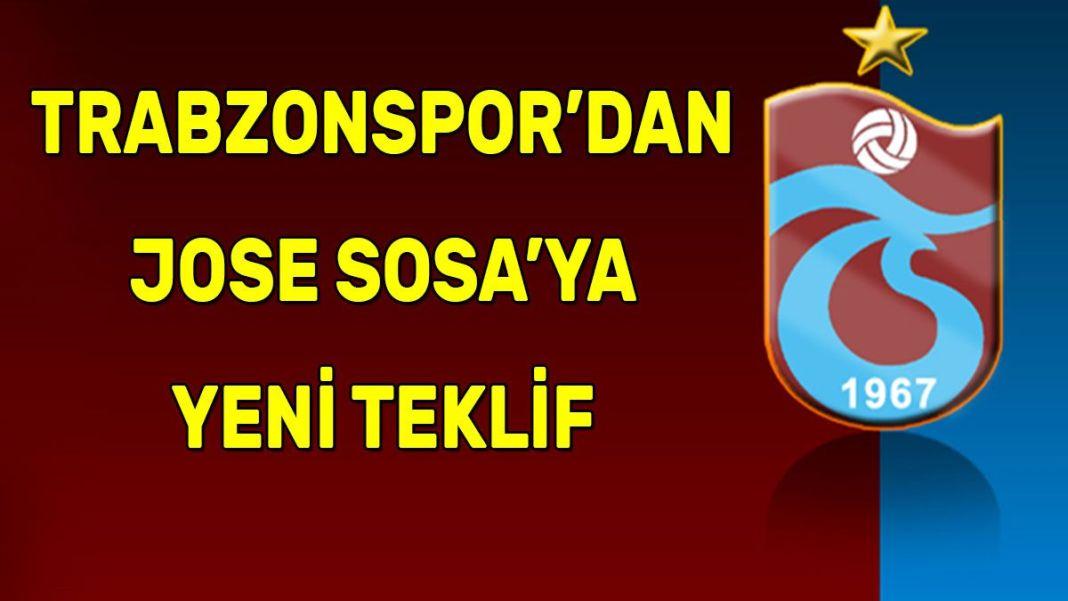 Trabzonspor'dan Jose Sosa'ya yeni teklif