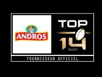 Andros, nouveau fournisseur officiel du Top 14