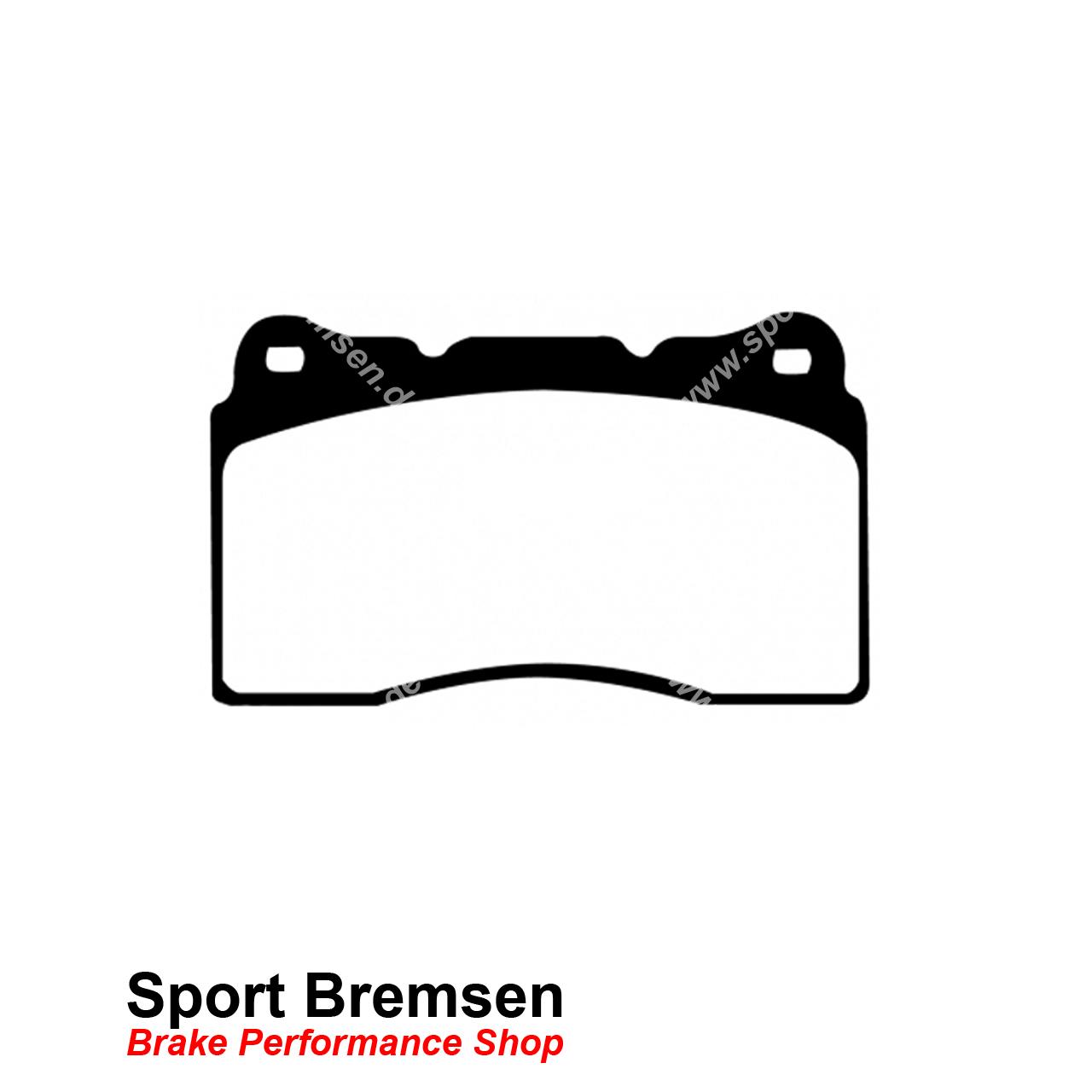 Ebc Redstuff Bremsbelage Fur Subaru Impreza Dp C Vorne