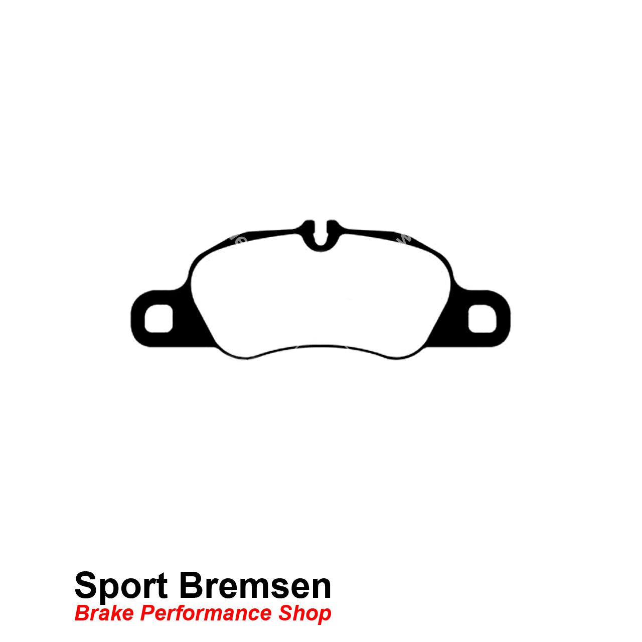 Ebc Yellowstuff Bremsbelage Fur Porsche Boxster 981 3 4