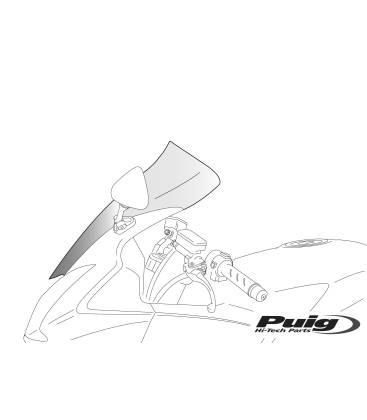 Bulle pour moto YAMAHA FZS600 FAZER 98-01 / Puig Touring