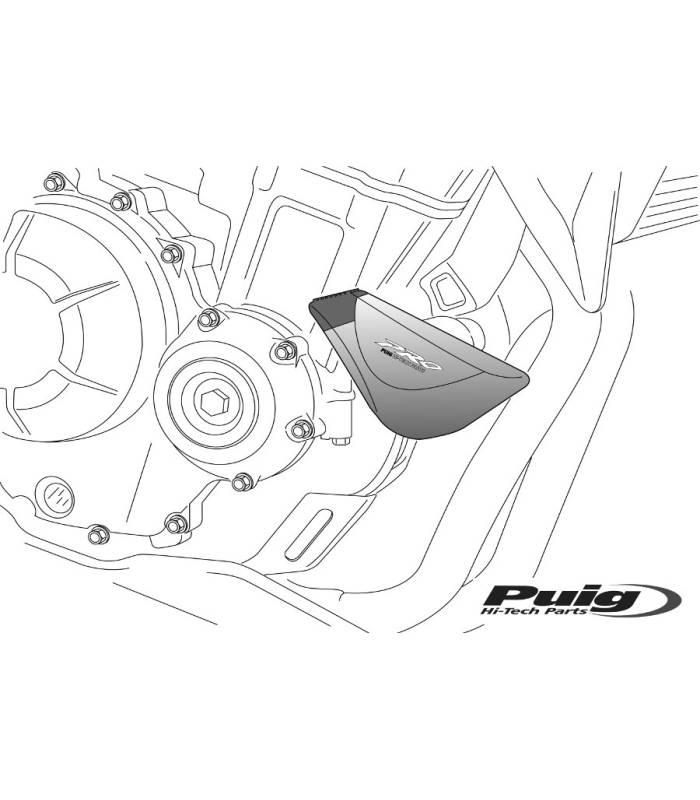 Protection moteur pour SUZUKI GSR600 06-11 / Puig Pro