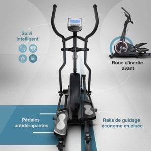 Confort Du Vélo Elliptique Sportstech Cx640