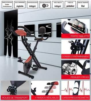 Détails du Sportstech F-Bike X100