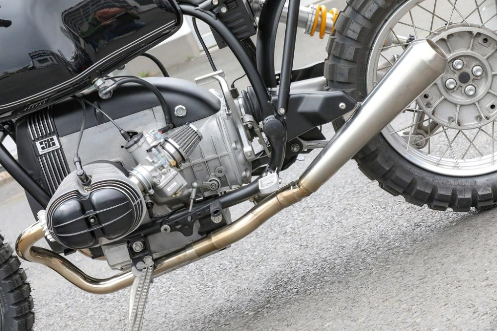 bmw r80 r100 parlever stainless steel 2