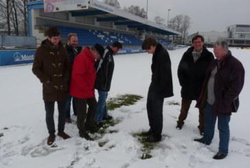 HSV hofft auf ein schneefreies Stadion