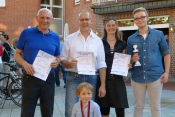 Kaschube-Trio erfolgreich beim Harener Citylauf
