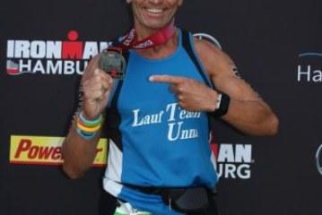 Michael Theil meistert mit Problemen Hamburg Ironman