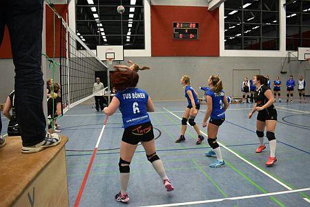 Bönener und Oberadener Volleyballdamen siegen in der Landesliga