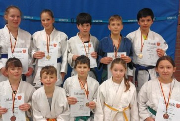 Eichengrün-Judoka kämpfen sich aufs Treppchen – Erfolgreicher Jahresstart auf Kreisebene