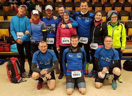 Lauf Team beim Sechs-Stunden-Lauf in Münster
