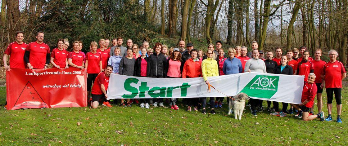 """""""Fit in den Frühling – fit für den Firmenlauf"""" – Vorbereitungskurs mit den Laufsportfreunden Unna-"""