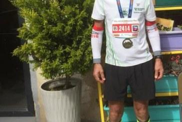 Georg Lazowski meistert Halbmarathon in Jerusalem