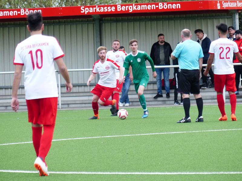 FC TuRa Bergkamen gewinnt 1:0 im Testspiel gegen HSC-Reserve
