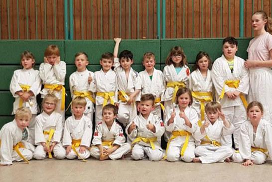 Holzwickeder Judo Nachwuchs erkämpft neue Gürtel