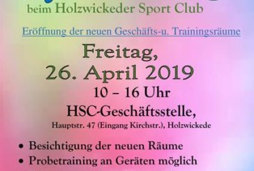 Eröffnung der neuen HSC-Geschäftsstelle und Trainingsräume am Freitag