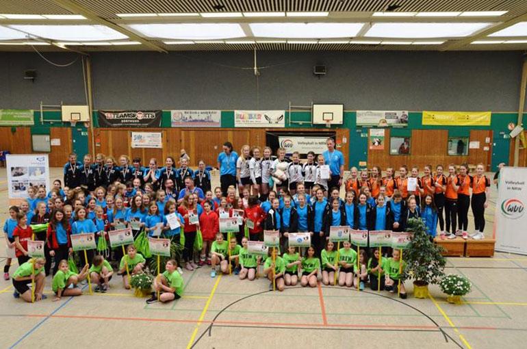Premiere: Erste Westdeutsche Jugendmeisterschaft – Vierter Platz für VVH II