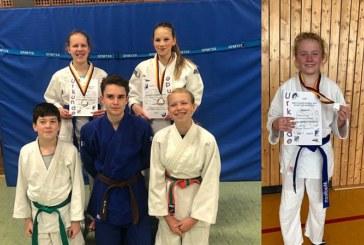 Vier Medaillen für Eichengrün – TuS-Judoka präsentieren sich auf Westfalen-Ebene