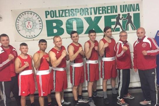 PSV Staffel beeindruckt beim Westparkboxen