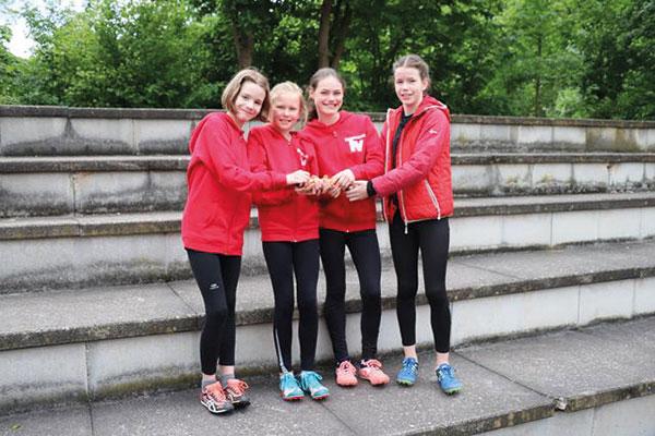 Junge Leichtathleten des TV Unna starten überzeugend in die Wettkampfsaison