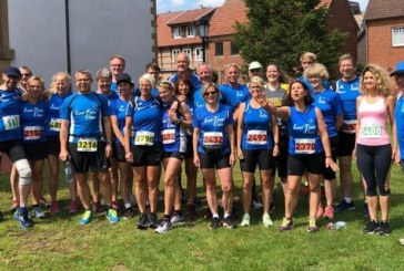 26 Starter vom Lauf Team Unna beim Hasetal Marathon – Felix Katzenberg läuft beim Halbmarathon auf Platz eins