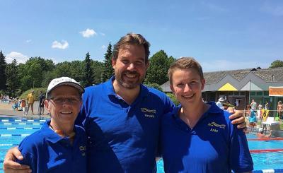Monika Kuhnert schlägt als neue NRW-Meisterin an